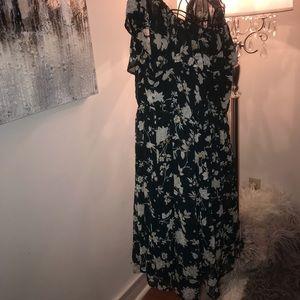 Torrid mid knee dress